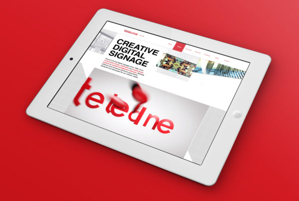 Telecine Brand Experience iPad